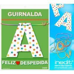 GUIRNALDA FELIZ DESPEDIDA (Cartulina 220gr)