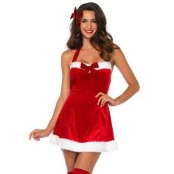 LEG AVENUE SANTA CLAUS SET 2PCS