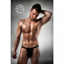 PASSION THONG MEN BLACK LINE KOMPLET S/M