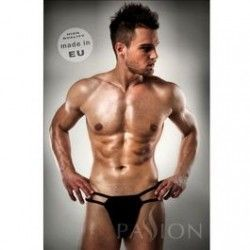 THONG BLACK LINE BY PASSION MEN LINGERIE KOMPLET S/M