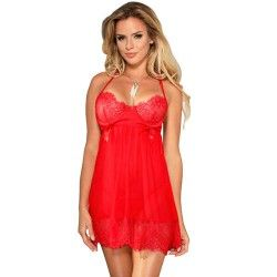 SUBBLIME BABYDOLL WITH BOWS RED
